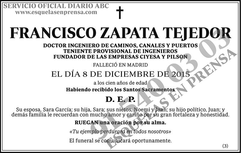Francisco Zapata Tejedor